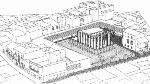 Integration proposal of the Temple of Diana